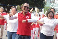 Gelar Pesta Rakyat Tripartit, Menaker Berpesan untuk Saling Bersinergi