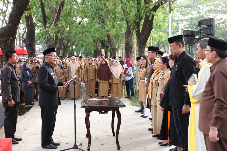 Di Akhir Masa Jabatan, Wali Kota Makassar Lantik 400 ASN