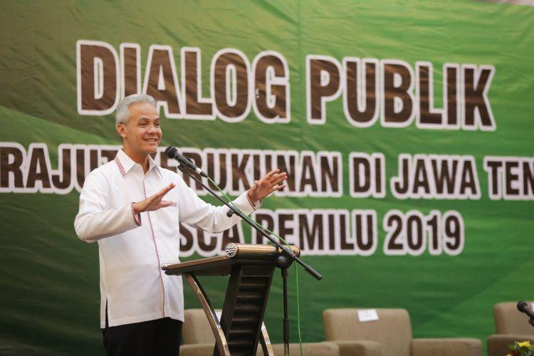 Ganjar Sebut Kerusuhan 21-22 Mei Disebabkan oleh Sengkuni