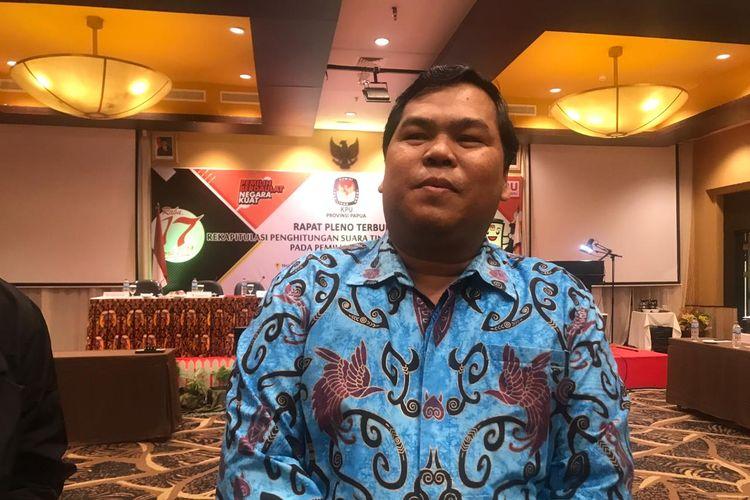 Anggota Komisioner Bawaslu Papua, Amandus Situmorang