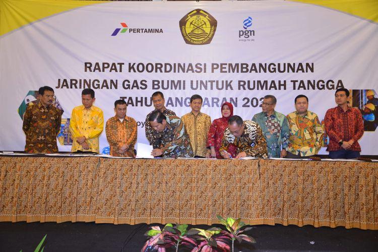 Bangun Jaringan Gas, Pemerintah Pusat Ajak Pemda Kawal Pembangunan