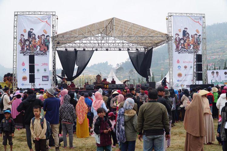 Panggung Dieng Culture Festival 2019.