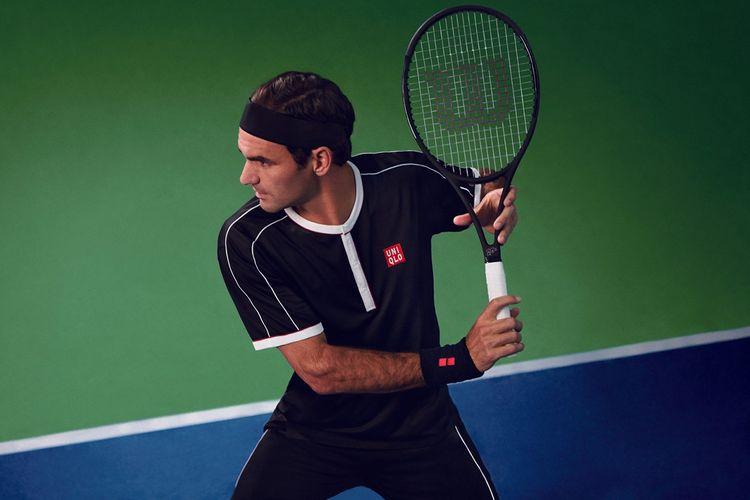 Koleksi Uniqlo yang terinspirasi dari Roger Federer