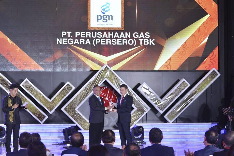 Gara-gara Inovatif, PGN Sabet IDX Channel Awards 2019