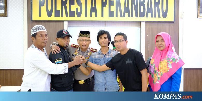 Dua Kelompok Pemuda yang Tawuran di Pekanbaru Berdamai Halaman all - Kompas.com