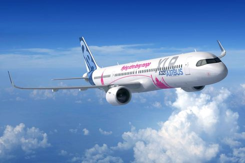 Airbus Resmikan A321XLR, Pesawat