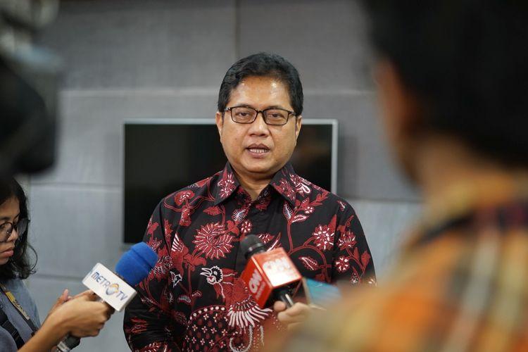 Wakil Ketua Umum Partai Amanat Nasional ( PAN) Viva Yoga Mauladi saat ditemui di Kompleks Parlemen, Senayan, Jakarta, Senin (13/5/2019).