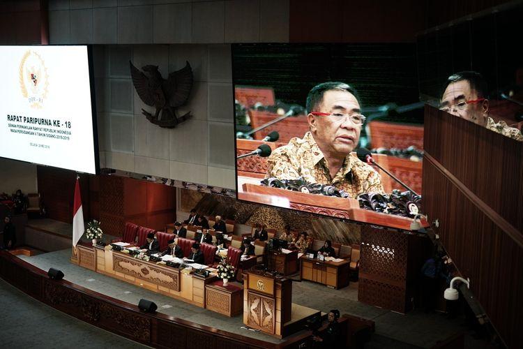 Anggota Fraksi Partai Gerindra Sodik Mudjahid mengusulkan agar DPR membahas pembentukan tim gabungan pencari fakta (TGPF) independen terkait kerusuhan yang terjadi pasca-demonstrasi hasil pilpres pada 22 Mei lalu di depan kantor Badan Pengawas Pemilu (Bawaslu), Jakarta Pusat.  Menurut Sodik, DPR harus mendesak pemerintah segera membentuk TGPF untuk menginvestigasi peristiwa kerusuhan yang telah menimbulkan korban jiwa.  Usul tersebut ia sampaikan saat mengajukan interupsi dalam Rapat Paripurna ke-18 DPR, di Kompleks Parlemen, Senayan, Jakarta, Selasa (28/5/2019).