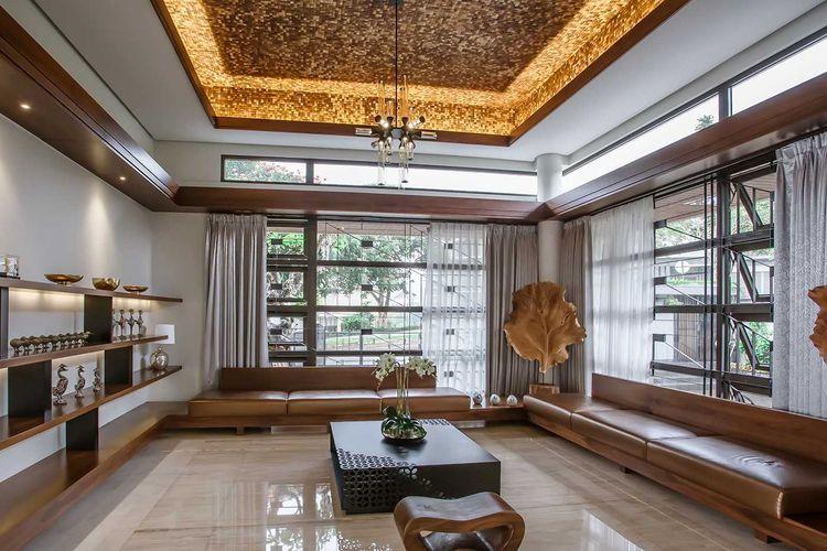 Dekorasi Ruang Keluarga Besar karya Lex and Architects