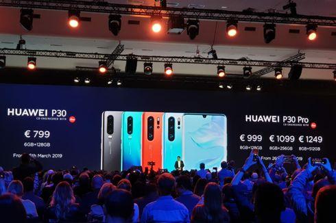 Segera Bisa Dipesan di Indonesia, Ini Spesifikasi Huawei P30 dan P30 Pro