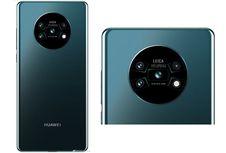 Bocoran Tampang Huawei Mate 30 dengan Empat Kamera di Wadah Bundar