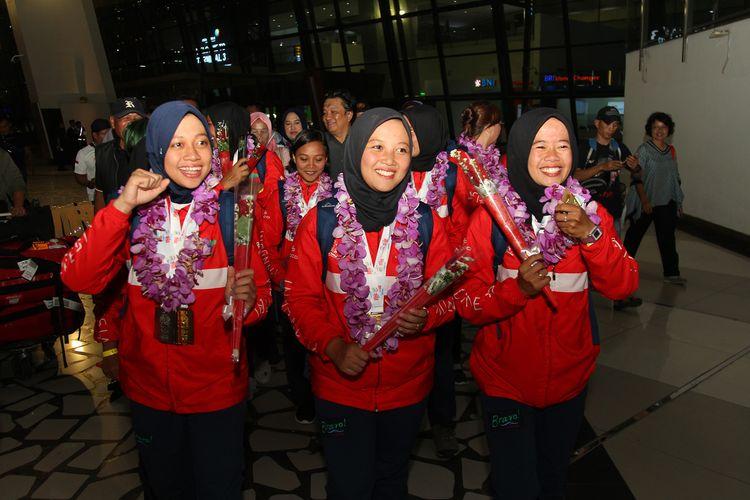 Tim U23 Women Arung Jeram Indonesia juara dalam WRC 2019