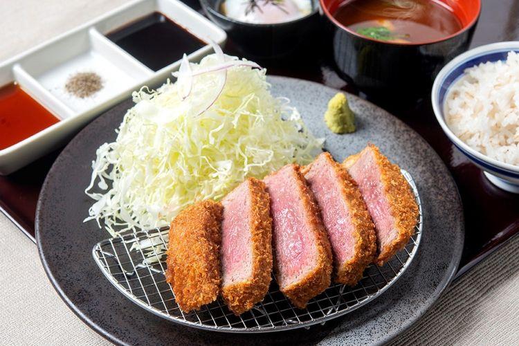 Set menu Beef Tenderloin Katsu Kyotama