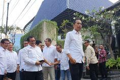 Tiba di Acara Pembubaran TKN, Jokowi Pastikan Koalisi Tetap Solid