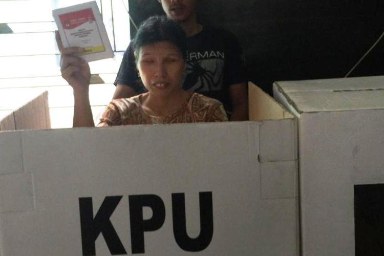 KPU Sumut, menyediakan TPS aksesibel memberikan kemudahan dan keleluasan teman-teman saat pencoblosan pada 17 April 2019 mendatang, Selasa (9/4/2019)
