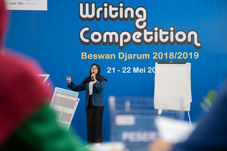 Djarum Foundation kembali menggelar final nasional Writing Competition Beswan Djarum 2018/2019 di Yogyakarta (21-22/5/2019).