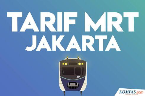 INFOGRAFIK: Tarif MRT Jakarta