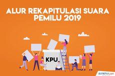 Catat, Ini Jadwal Rekapitulasi Suara Pemilu 2019 dari Daerah hingga Pusat