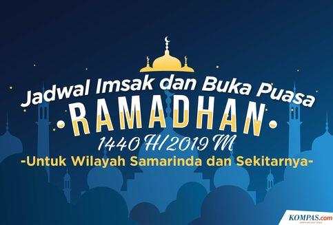 Jadwal Imsak dan Maghrib untuk Samarinda Selama Ramadhan 1440 H