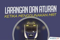 INFOGRAFIK: Larangan dan Aturan Saat Menggunakan MRT
