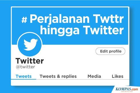 INFOGRAFIK: Perjalanan Twttr hingga Twitter