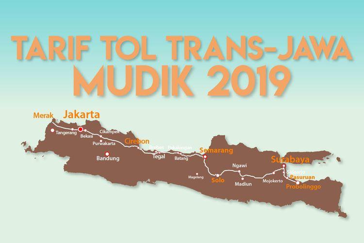 Tarif Tol Trans-Jawa Mudik 2019
