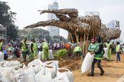 Seniman Instalasi Bambu Getih Getah Resah Publik Hanya Soroti Anggaran