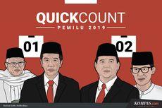 Quick Count Pilpres 2019 Poltracking di Maluku dan Papua