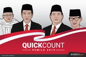 Hasil 'Quick Count' Sejumlah Lembaga: Jokowi-Ma'ruf Unggul di DKI Jakarta