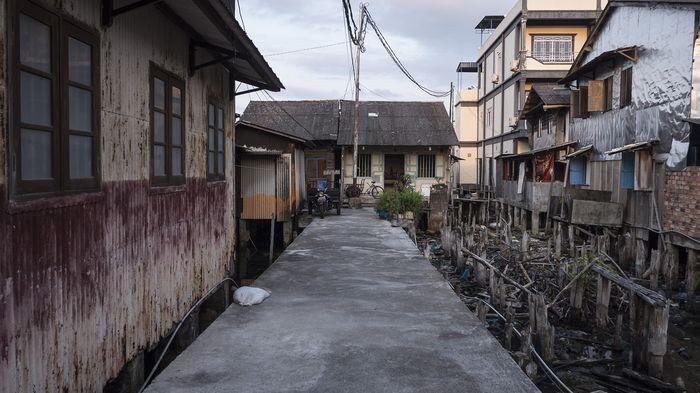 Menengok Geliat Kampung Pesisir Tanjung Pinang di Pelantar