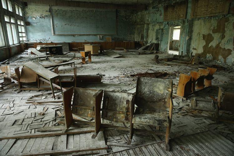 Efek sekolah di Kiev karena radiasi nuklir