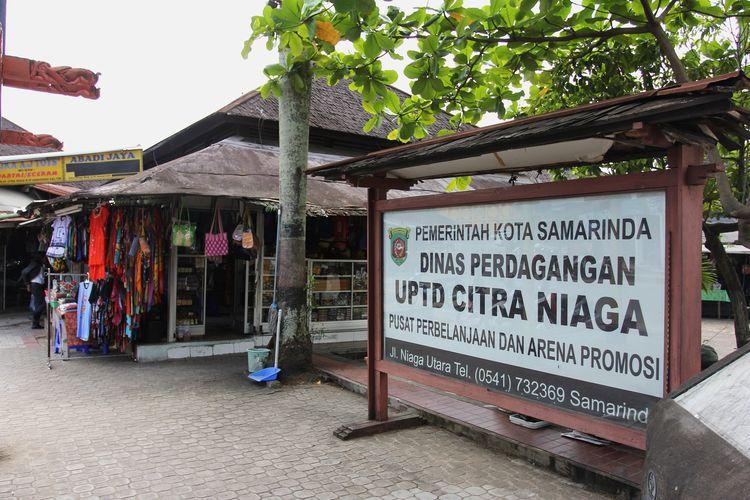 Citra Niaga, komplek pusat perbelanjaan oleh-oleh di Samarinda.