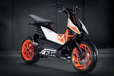 KTM Indonesia Belum Tertarik Bawa Motor Listrik
