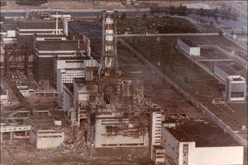 Hari Ini dalam Sejarah: Tragedi Ledakan Reaktor Nuklir Chernobyl