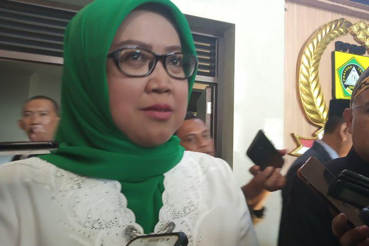 Bupati Bogor Ade Yasin saat ditemui usai rapat paripurna di Gedung DPRD Kabupaten Bogor, Rabu (12/6/2019)
