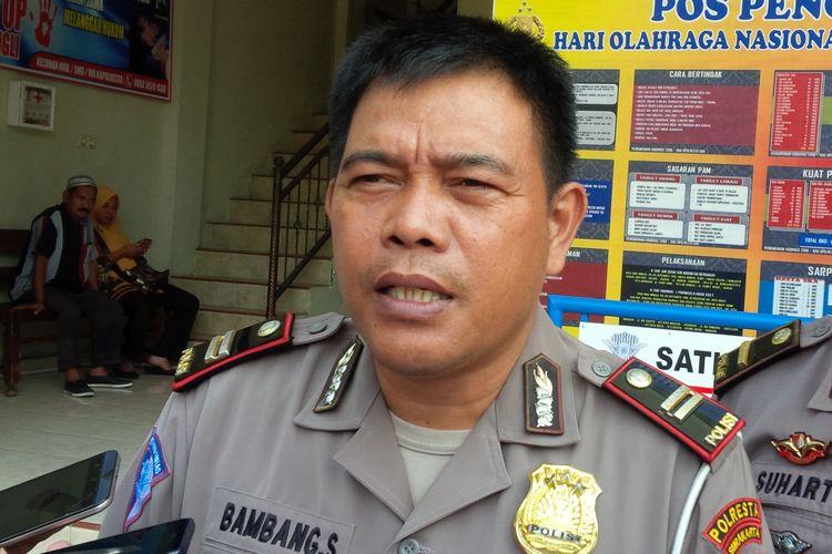 Kanit Laka Satlantas Polresta Surakarta Iptu Bambang Subekti.