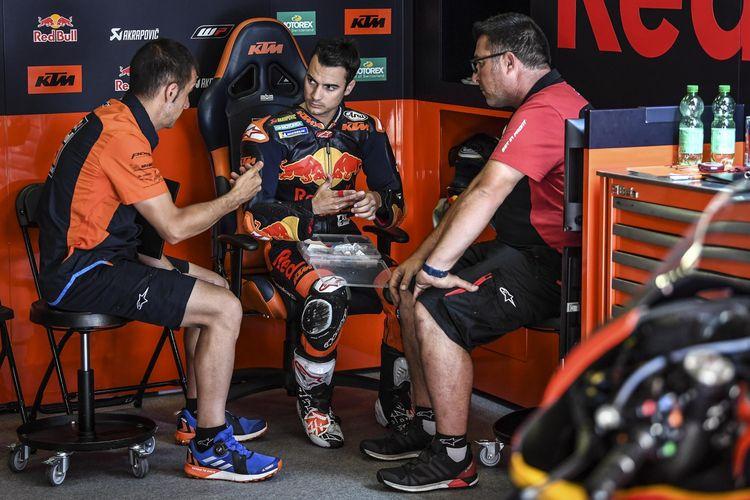 Dani Pedrosa mulai ikut kembangkan motor KTM.