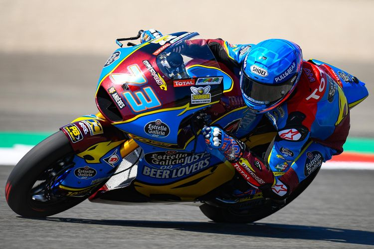Alex Marquez gagal raih kemenangan di GP Assen dan turun peringkat di klasemen sementara Moto2 2019.