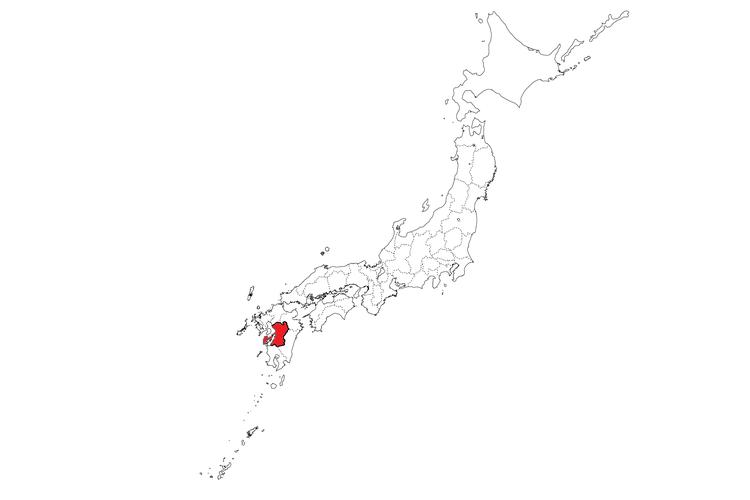 Lokasi Prefektur Kumamoto