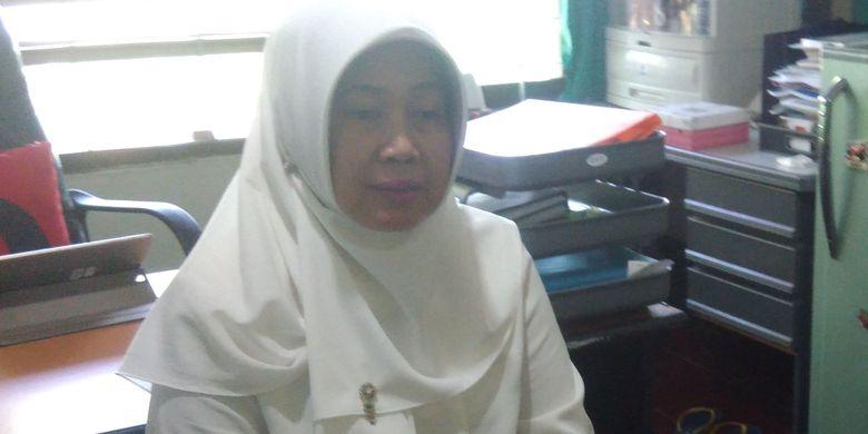 Kepala Dinas Kesehatan (Dinkes) Gunungkidul Dewi Irawati