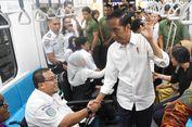 Jokowi Ajak Erick Tohir dan Wishnutama Naik MRT