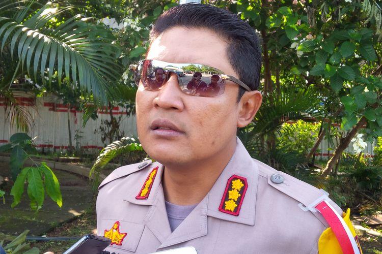 Kapolresta Surakarta Kombes Pol Ribut Hari Wibowo di Solo, Jawa Tengah, Senin (15/4/2019).