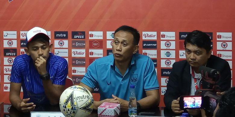 Tim PSIS Semarang jumpa pers jelang pertandingan lawan Semen Padang