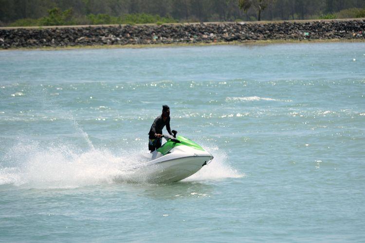 Jet ski di Tanjung Benoa bali.