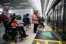 Catatan Uji Coba MRT dari Penyandang Disabilitas..