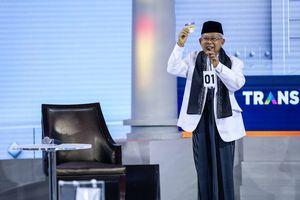 """""""Banyak yang Salah Kaprah Nilai Ma'ruf Sebelum Debat"""""""