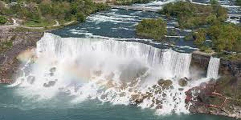 Air Terjun Niagara dalam kondisi normal