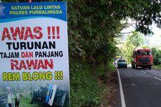 Rawan Kecelakaan, Pemudik yang Melintas di Jalur Pemalang-Purbalingga Diminta Waspada