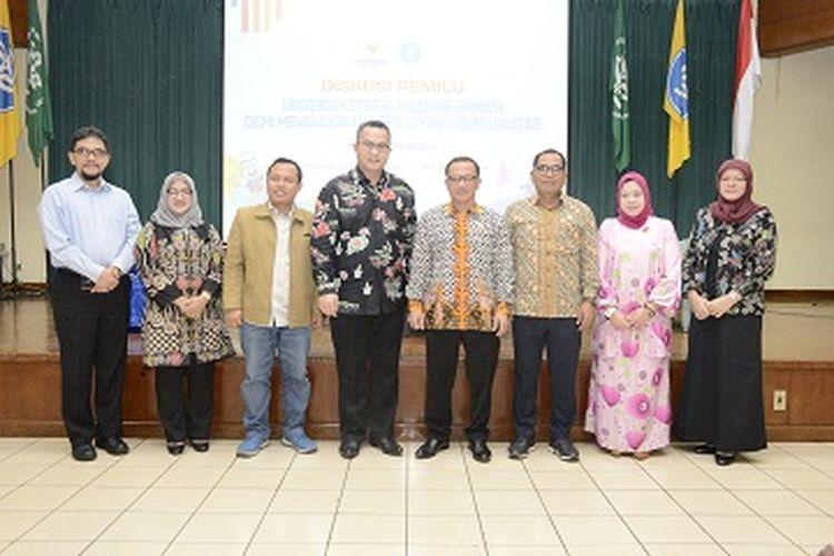 IPB bekerjasama dengan Komisi Informasi Pusat (KIP) menggelar Diskusi ?Urgensi Keterbukaan Informasi Demi Mewujudkan Pemilu yang Berkualitas?, di Kampus IPB Dramaga (11/3/2019).