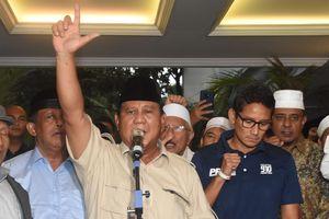 Empat Kali Sandiaga Tak Dampingi Prabowo...